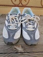 """Nike Shox """"NZ"""" Gray/Blue Running/ Cross Training Shoes Women's 9"""