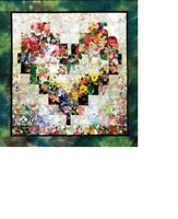 Whims Watercolor Quilt Kit - Heart In Bloom - Complete kit - Brand New