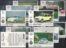 LANCASHIRE CONSTABULARY-FULL SET- COP-A-CARD (2ND SERIES X12 CARDS) - EXC+++