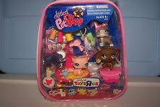LITTLEST PETS SHOP TOYS R US EXCLUSIVE  #958 959 960 961 SASSIEST  NEW IN BOX