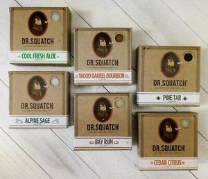 Pick 2 Dr. Squatch Soap Bars 5oz - Free Shipping