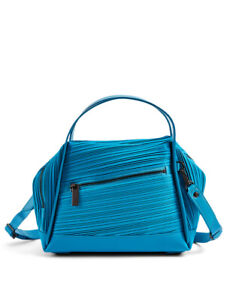 PLEATS PLEASE ISSEY MIYAKE Small Bias Pleats Satchel Bag 5000245582