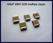 Murata SMD Capacitor 100nf 0,1µf 250v 20% 2220 5 pezzi