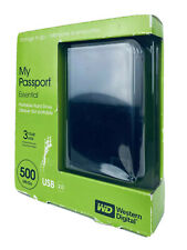 WD My Passport Essential 500 GB USB 2.0 Portable External Hard Drive WD500ME-01