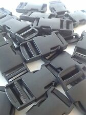 50 Plastic Side Release Clip Buckles for 25mm Webbing