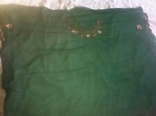 BNWT Green And Pink  Saree Sari Kameez Material