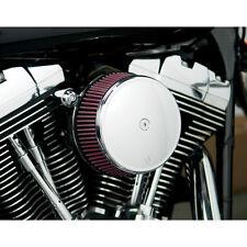 Arlen Ness Big Buzzsucker Filtre à Air Chrome Cover Kit pour Harley Evolution 93-99