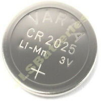 2 x CR2025 Varta Lithium coin Batteries 3v CR 2025  DL 2025