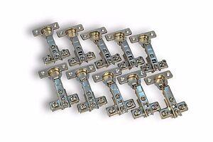 Topfband Eckanschlag 26mm Scharnier Topfscharniere GTV Federscharniere 10 Stück