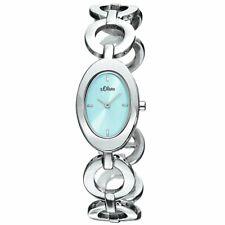 s.Oliver Damen-Armbanduhr Analog Quarz SO-15076-MQR