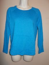 Old Navy Girls Size XL (14) Blue Sweat Shirt Long Sleeves Hand Warmer