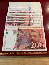 Billets De 200 Francs Eiffel 1996-1997