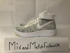 NIke Women's Air Force 1 Flyknit Oero 818018-101 UK 3 EU 36 US 5.5
