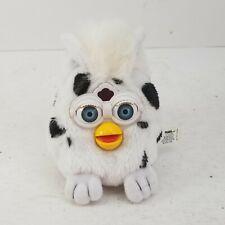 Vintage 1999 Furby Buddies Tiger Beanbag Plush Spotted White Black