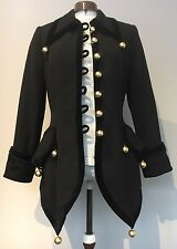 Cheap And chic By Moschino Asymmetrical Coat Size 12/ 10 US - RARE