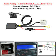 Car Audio Bluetooth 5.0 Aux Adapter Cable Accessories For Mfd Rns310/510/810 Rcd