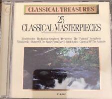 Classical Treasures: 25 Classic Masterpieces/Var (CD, Madacy Distribution)