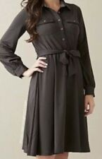 Matilda Jane Paint By Numbers Size Medium Ink Blot Beltd Brown Dress