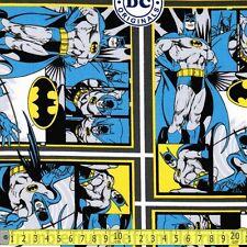 Camelot Fabric DC Comics Originals Batman PER METRE Comic Book Hero Heroes Marve