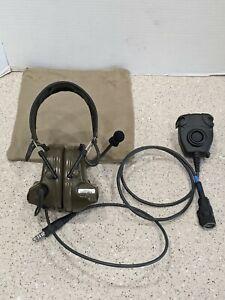 NEW 3M PELTOR COMTAC II Headset Kit 88010-00000 + FL5601-02 PTT