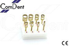 8 trephine Taladros con irrigación Quirúrgica Dental Implante esterilización Bloque