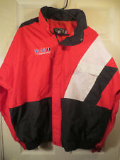 Osterman Mobil 1 Racing Jacket Red/White/Blue Zip Up Daytona - see measurements