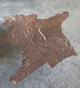 Tan Leather Hide Leathercraft