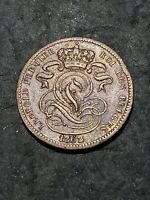 1862 BELGIUM 1 CENTIME COIN ***YOU GRADE***