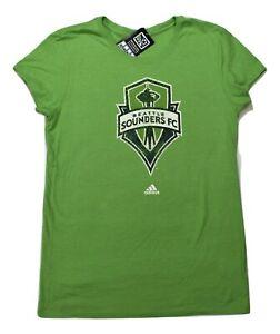 adidas MLS Womens Seattle Sounders FC Soccer Shirt NWT M, L, XL, 2XL