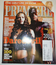 Premiere Magazine Daredevil Ben Affleck Jen Garner February 2003 031015R