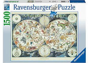 Ravensburger - 1500pc World Map of Fantastic Beasts Jigsaw Puzzle 16003-7