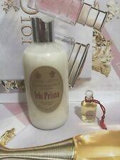 Vintage Penhaligon's Iris Prima Bath & Shower Cream + 5ml Edp Mini Rare Duo