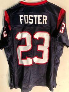 Reebok Women's NFL Jersey Houston Texans Foster Navy sz M