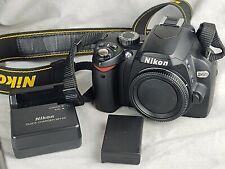 Nikon D60 10.2 MP Digital SLR Camera - Black (Body Only) (S6-1)