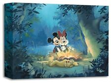 Family Campout - Rob Kaz - Treasure On Canvas Disney Fine Art