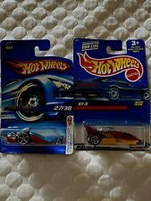 Pair Of Hot Wheels 3 Wheeled Cars Quad Rod and XT-3