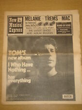 NME #1242 1970 OCT 31 TOM JONES FLEETWOOD MAC TREMS