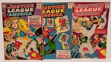 Justice League of America #21 22 29 Silver Age Comic Book Lot Justice Society DC