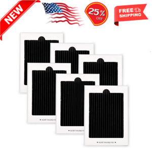 Refrigerator Air Filter Replacement 6 Pack - Carbon Activated Filter Compatible