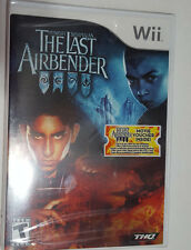 Brand New The Last Airbender: The Movie Nintendo Wii Game Sealed