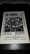 Los Chijuas Changing The Colors Of Life Rare Original Promo Poster Ad Framed!
