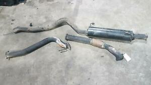 HOLDEN COLORADO EXHAUST SYSTEM RC 05/08-12/11 4JJ1 3 INCH SYSTEM FROM TURBO-BACK