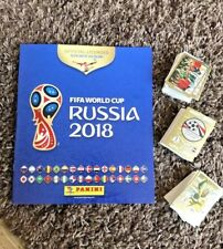 PANINI World Cup Russia 2018 Complete 682 Sticker Set + Album