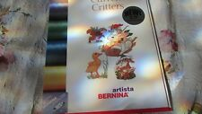 Bernina Artista 200 CD CURRENT CRITTERS #547 Embroidery Cd Plug & Play, 200 Only