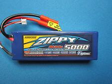 ZIPPY 5000mAh 2S 7.4V 20C LIPO BATTERY HARDCASE HXT 4MM TRAXXAS REDCAT HPI AXIAL