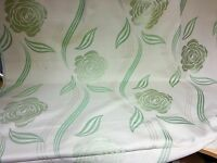 SUPER LUXURIOUS LIME GREEN FLORALJACQUARD TOP DESIGNER CURTAIN FABRIC 4.8 METRES