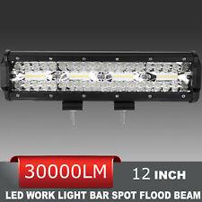 Autofeel 12INCH Tri Row 920W Super  LED Light Bar 6000K Combo Beam  SUV ATV