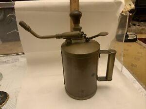 Large Vintage Copper / Brass Garden/Plant Mist Sprayer Collectable Item