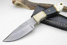 KNIFE COLTELLI damasco coltello da caccia coltellino coltelli Damasco Bowie Mega Skinner #42