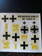 1/72 Airfix Messerschmitt Bf 109 G-6 ver B decal